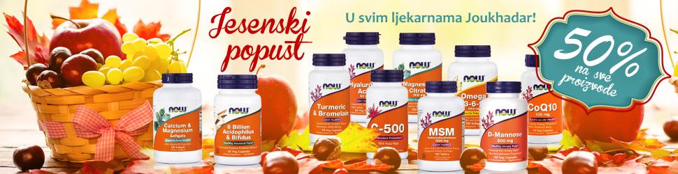 Jesenski popust 10/2018