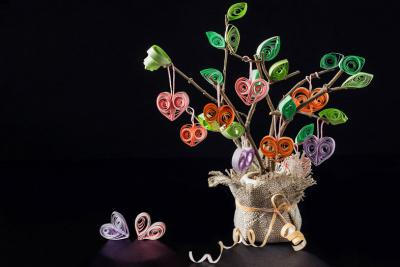 Quilling srce