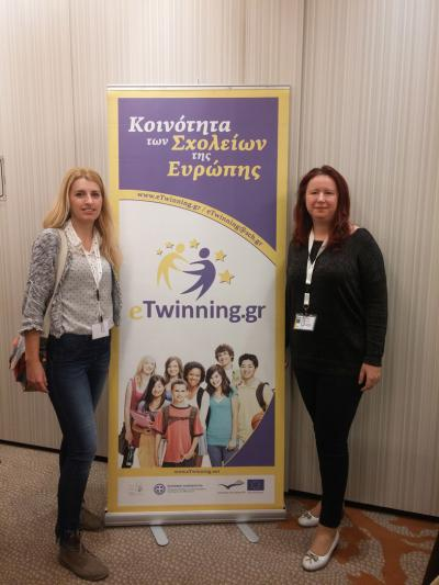 "E-Twinning tematska konferencija u Grčkoj ""Learning to think in a digital society"""